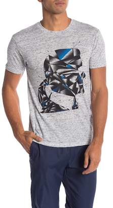 Karl Lagerfeld Head Abstract Graphic Tee