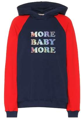 Christopher Kane More Baby More cotton hoodie