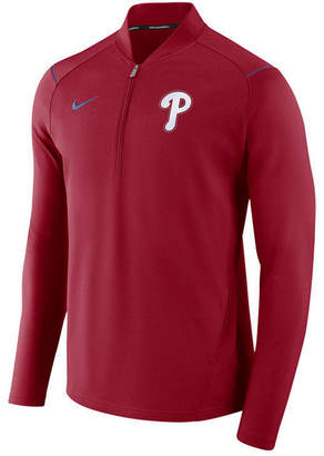 Nike Men's Philadelphia Phillies Dry Elite Half-Zip Pullover