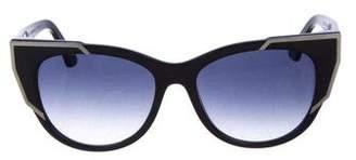 Christian Dior Futurist Cat-Eye Sunglasses