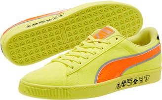 Puma Hazard Yellow Suede Sneakers