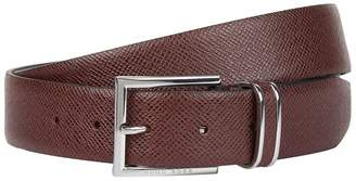 HUGO BOSS Textured Leather Belt