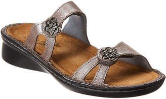 Naot Footwear Melody Wedge Leather Sandal