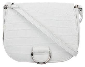 Little Liffner Embossed Medium D Saddle Bag