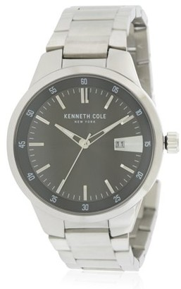 Kenneth Cole New York Kenneth Cole Stainless Steel Mens Watch KCC0131001