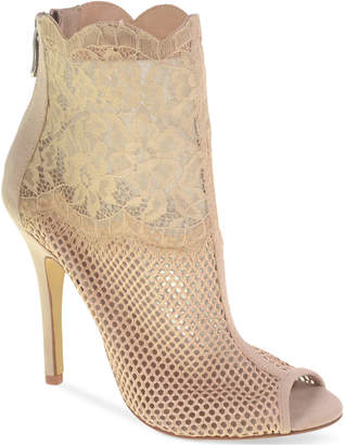 Chinese Laundry Jeopardy Mesh Lace Booties