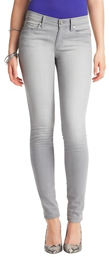 LOFT Super Skinny Jeans in Canvas Grey Wash
