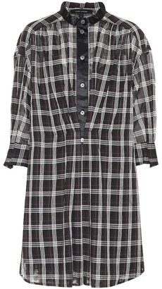 Marc Jacobs Checked cotton shirt dress