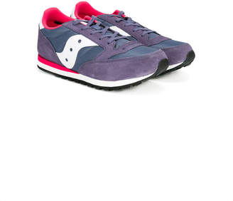 Saucony Kids lace-up running sneakers
