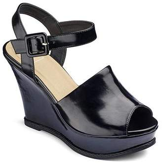 25dcb3c6b84c Sole Diva High Vamp Wedges Wide E Fit
