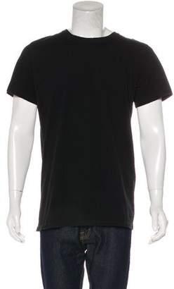 Balmain Distressed Short Sleeve T-Shirt