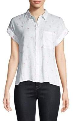 Rails Whitney Flamingos Shirt