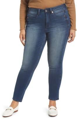 Seven7 Tummyless High Rise Skinny Jeans