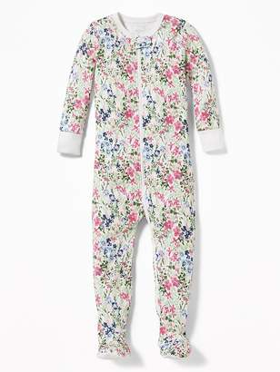 Old Navy Floral-Print Footed Sleeper for Toddler & Baby
