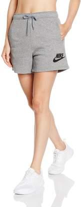 Nike Womens Rally Logo Shorts 726037-091