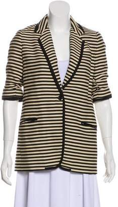 Elizabeth and James Striped Cotton Blazer