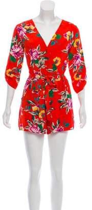 Yumi Kim Floral Print Romper