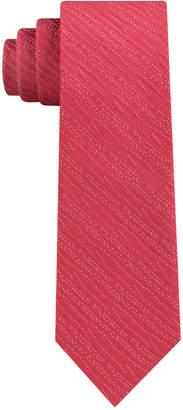 Calvin Klein Men's Infinite Ripple Skinny Silk Tie
