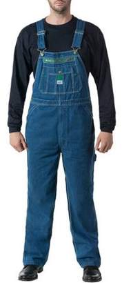 Liberty Big Men's Stonewashed Denim Bib Overall