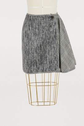 Aalto Short skirt with ruffles