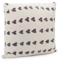 Saks Fifth Avenue Handspun African Mud Cloth Throw Pillow