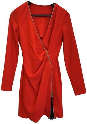 La Perla Red Wool Dress for Women