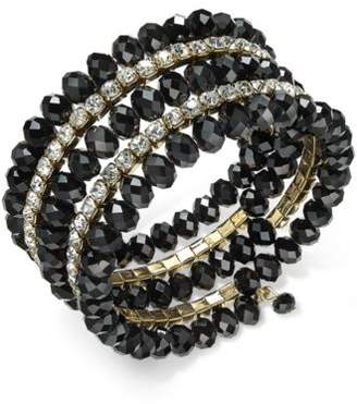 INC International Concepts I.N.C. Coil Wrap Beaded Bracelet, Created for Macy's
