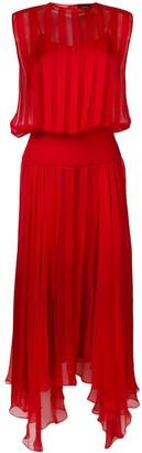 Irina Schrotter sleeveless pleated dress