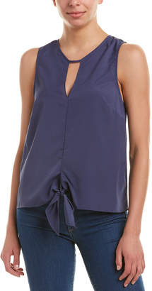 BCBGeneration Tie-Front Top