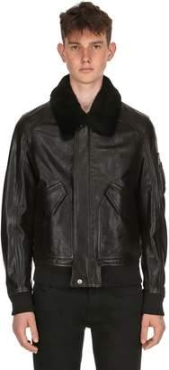 Belstaff Arne Leather Aviator Jacket