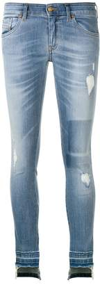 Diesel Slandy distressed skinny jeans