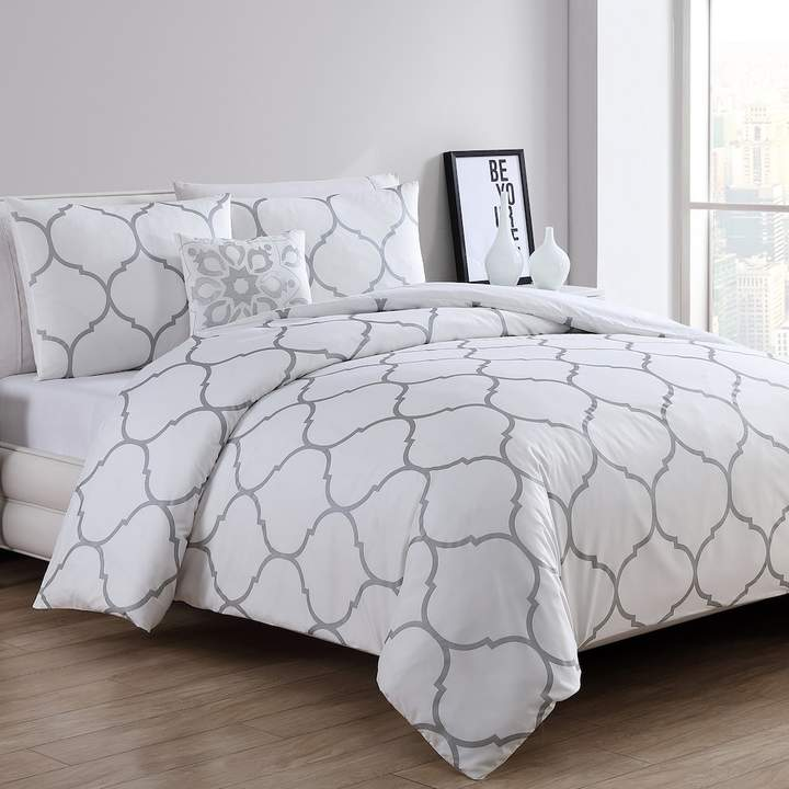Vcny VCNY Moroccan Metallic Comforter Set