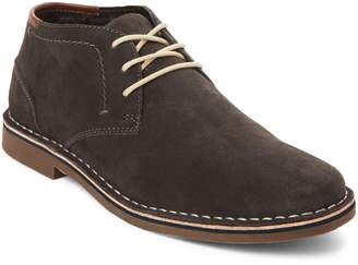 Kenneth Cole Reaction Dark Grey Desert Sun Suede Chukka Boots