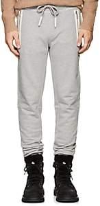 Moncler Men's Cotton Terry Sweatpants-Gray
