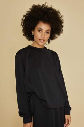 Fila Bandier X Long Sleeve Crop Top Sweatshirt