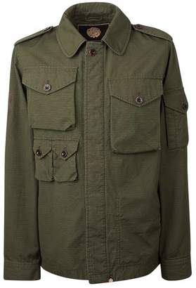 Pretty Green Cotton Ripstop M65 Jacket