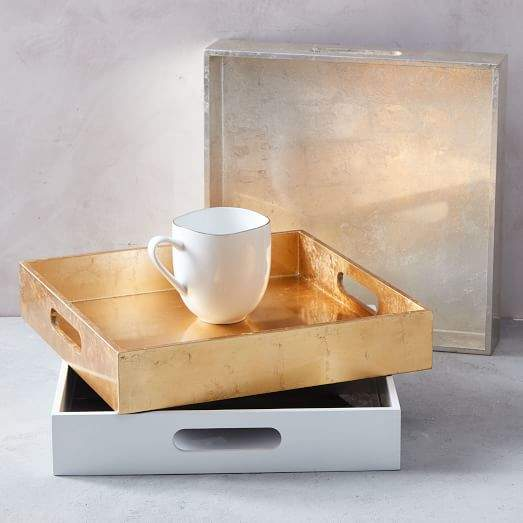 west elm Lacquer Trays - Square