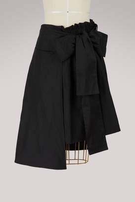 Paskal Short asymmetric skirt