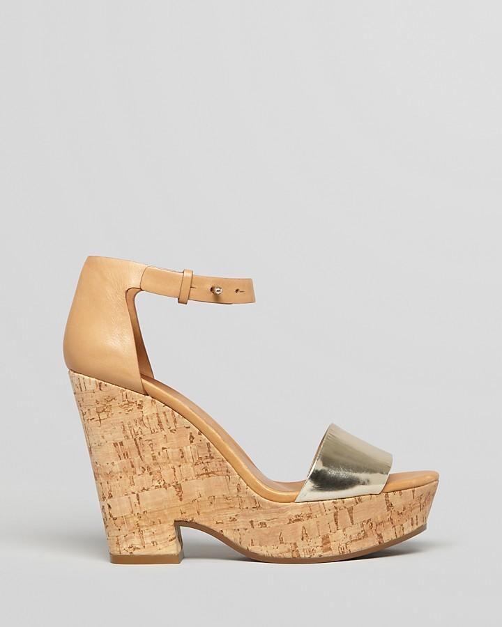 See by Chloe Wedges - Bensano Cork Heel