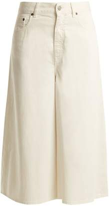 MM6 MAISON MARGIELA Mid-rise wide-leg cropped jeans