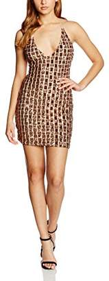 Goldie Women's Dancing In September Cocktail Sleeveless Dress,(Manufacturer Size:Small)