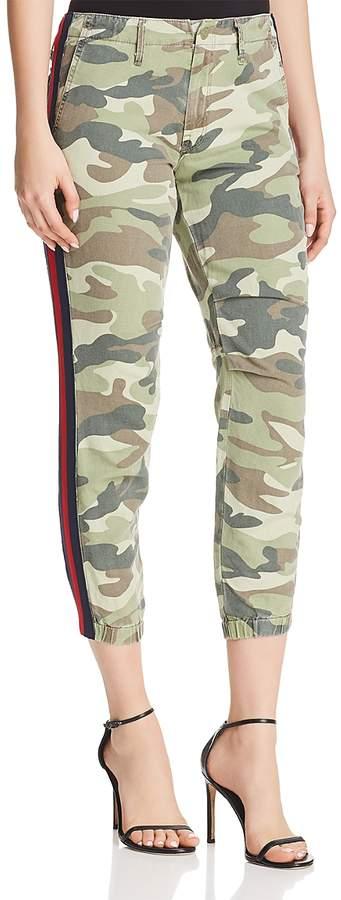 The Misfit Side-Stripe Camo Pants