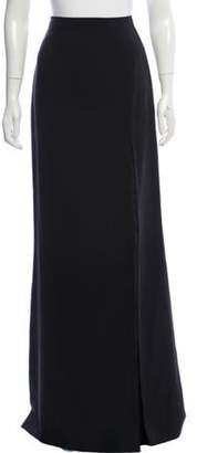 J. Mendel Silk Maxi Skirt Black Silk Maxi Skirt