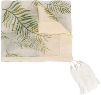 Forte Forte leaf printed scarf