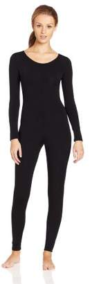 Capezio tb114 black long sleeved unitard (X-LARGE)