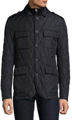 Etro Quilted Buttoned Jacket