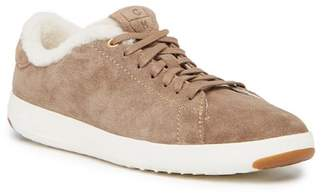 Cole Haan GrandPro Genuine Shearling Lined Tennis Shoe