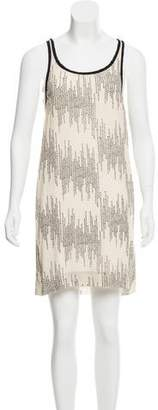 Edun Silk Printed Dress