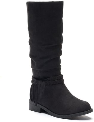 SONOMA Goods for LifeTM Girls' Tall Slouch Boots $54.99 thestylecure.com