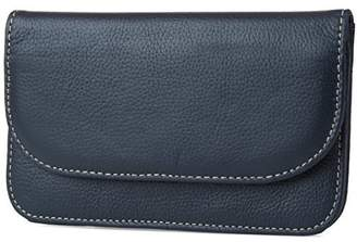 Mundi Womens Flap Envelope Clutch RFID Blocking Wallet With Safe Keeper Technology
